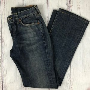 LUCKY BRAND Classic rider bootcut jeans size 27/4